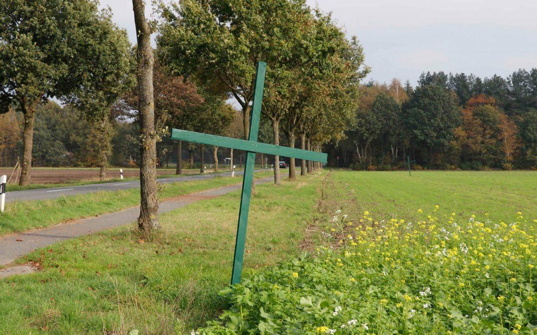 Agrarpaket bringt Stimmungstief, Grüne Kreuze und Trecker-Protest